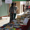Olleria library celebrates its day, with a supportive selling books.