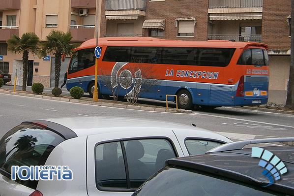 aumenta el servicio de autobus en l'Olleria