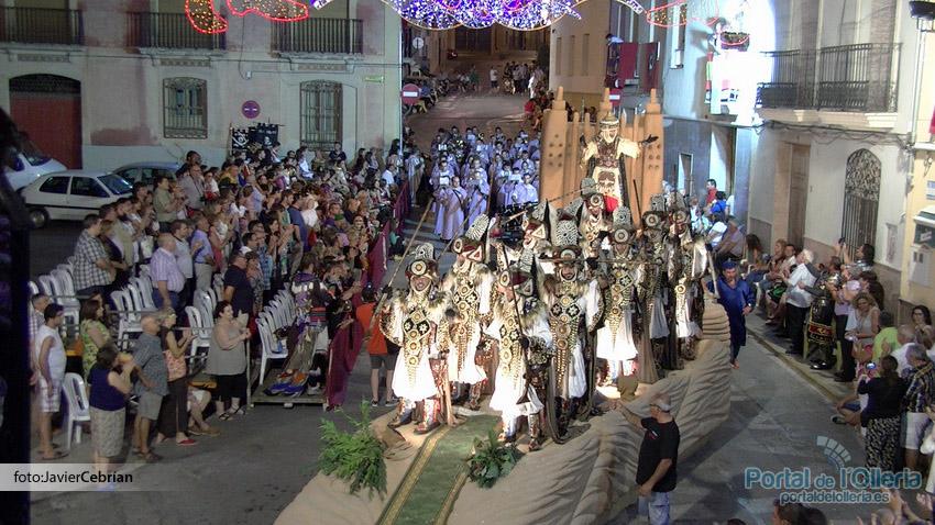 Portal de l 39 olleria una entrada de moros y cristianos a - El tiempo olleria ...